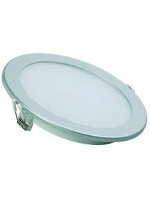 Светильник ДВО 1608 серебро круг LED 18Вт 4000 IP20