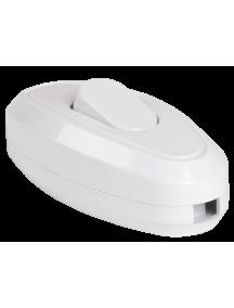 ВБ-01Б Выключатель одноклавишный разборный для бра, белый IEK