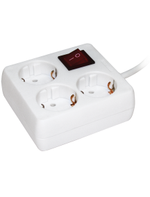 Удлинитель У-С03К-выкл. 3 места 2Р+PЕ/3метра 3х1мм2 16А/250 IEK