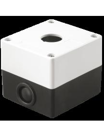 Корпус КП101 для кнопок 1место белый ИЭК