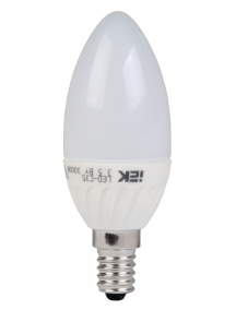 Лампа светодиодная C35 свеча 3.5 Вт 250 Лм 230 В 3000 К E14 IEK