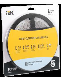 Лента LED 5м  блистер  LSR-5050W30-7,2-IP65-12V IEK
