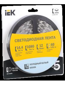 Лента LED 5м  блистер  LSR-5050W60-14,4-IP20-12V IEK