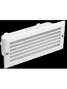 Светильник НВП3101 белый/прямоугольник с решеткой 60Вт IP54 IEK