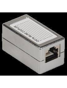 ITK Проходной адаптер кат.5E FTP, тип RJ45-RJ45