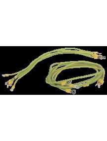 ITK Комплект проводов заземления 50 cм - 6шт; 80 cм - 3шт