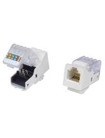 ITK Модуль Keystone Jack кат.5E, UTP, IDC Dual, гор. заделка