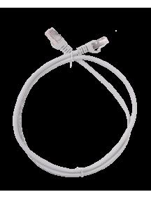 ITK Коммутационный шнур (патч-корд), кат.5Е FTP, 1м, серый